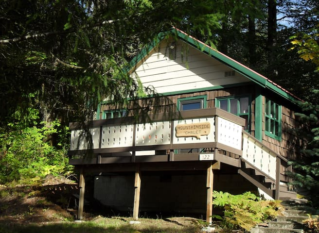 """Tiny House"" - Mountainside Chalet 1 bd/1 ba/occ 2"
