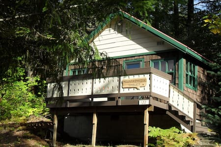 Mountainside Chalet 1 bd/1 ba/occ 2 - Packwood - Casa