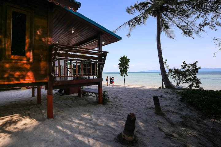 Romantic Beachhouse with sunsetview - Ko Pha-ngan - Hus