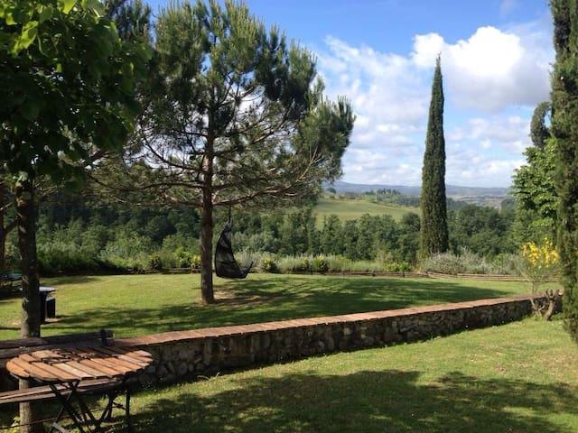 Bellavista sulle colline Toscane