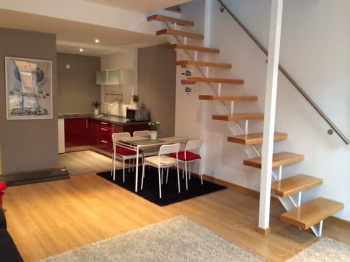 Loft-Duplex Moderno con terraza y Garaje Opcional