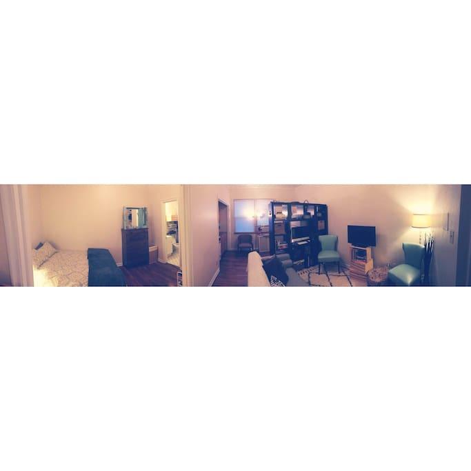 Panorama View of Apartment
