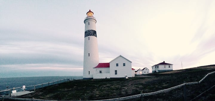 Maxs House ~ Point Amour Lighthouse