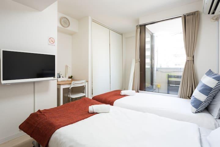 Tennoji, Namba Luxury room in Tanimachisuji C07T