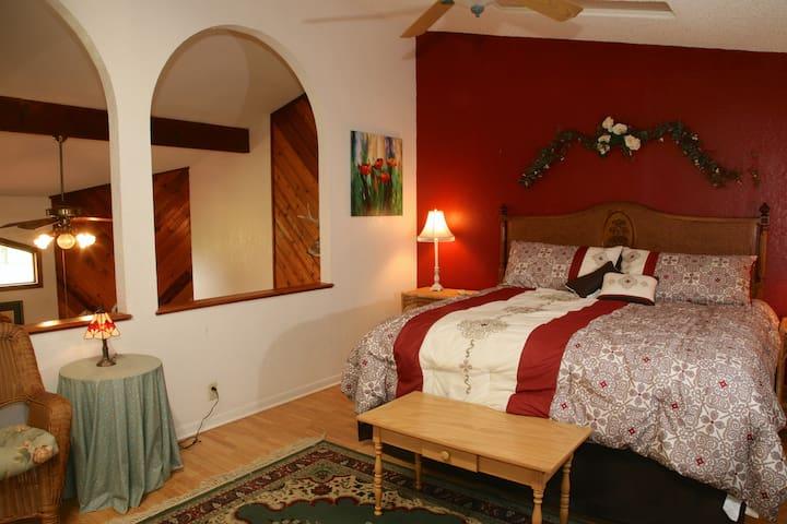Upstairs Master Bedroom 2