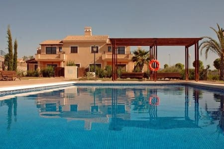 Stunning 3 bed villa/3 bath - community pool - Fuente Álamo