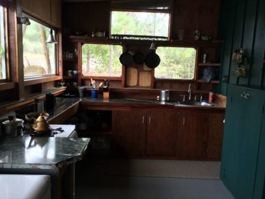 fancy kitchen... okay lets say practical kitchen!