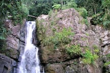 Waterfalls at El Yunke! Refreshing swimming water...