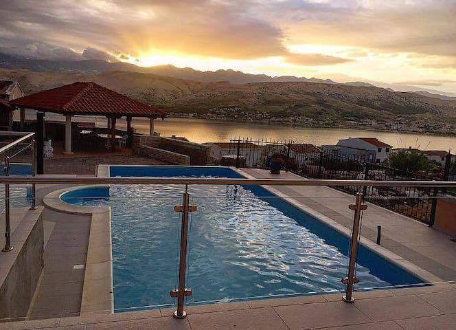 Villa Ivita 5,beautiful view,pool