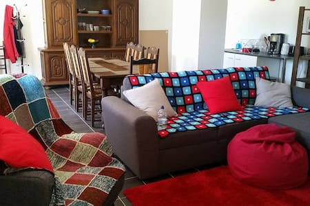 Ignaux appartement, 8 couchages/apt, sleeps 8 - Ignaux - Apartamento