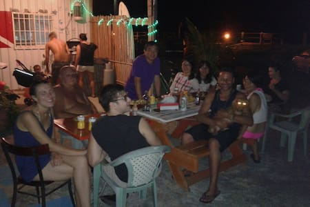 Green island hot spring Backpack AC - Lüdao Township - Bed & Breakfast