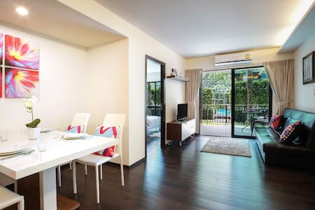 2 Bdr Apartment with Pool Access