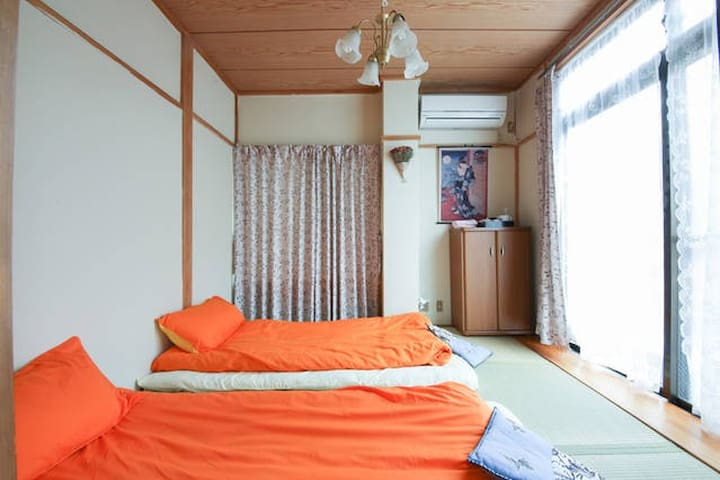 Room Tatami Double Room -101Can book a day trip - Kita - Villa