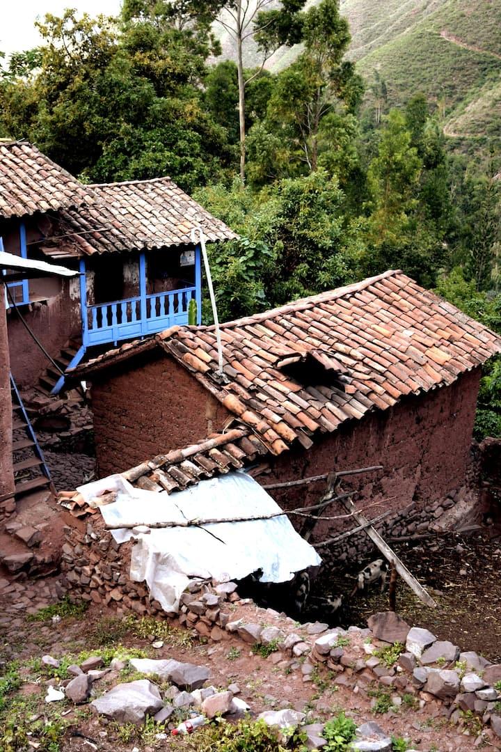 Local farmer house