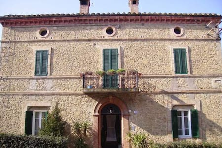 Villa D'Epoca affrescata/porzione - Marsciano  - 別荘