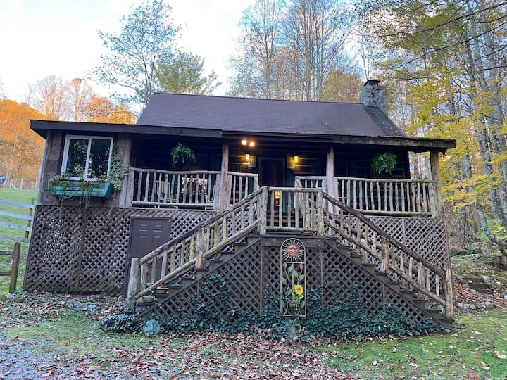 Bear Cabin @ Misty Hollow Roan Mt TN Hot Tub Grill