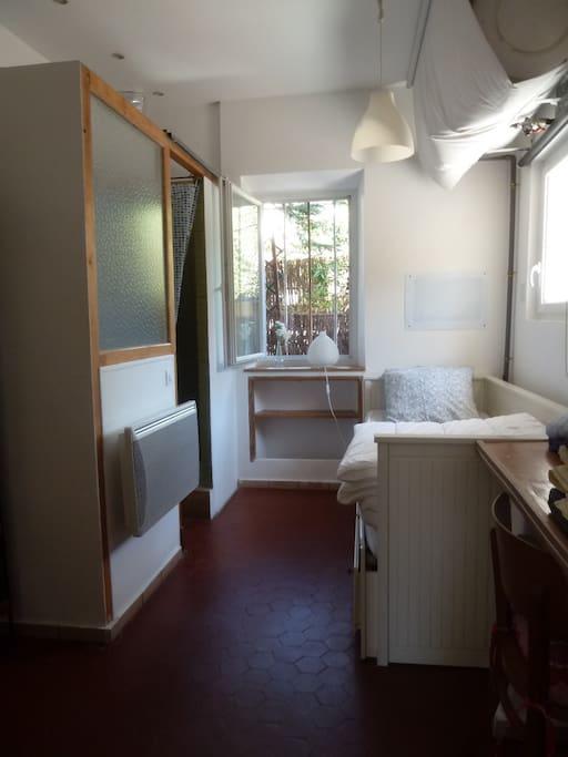 Chambre: Chambre avec salle d'eau attenante