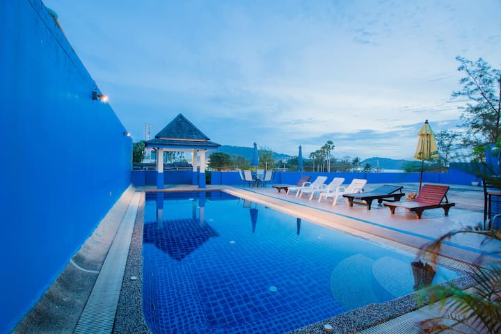 A superior twin next sea and beach - Patong - Appartement