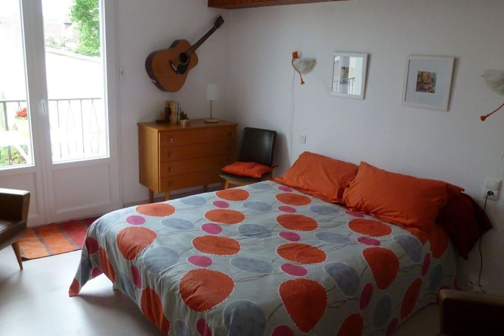 Chambre de l'étage ( 1 lit double)