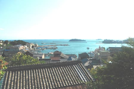 Enjoy Tomo's seascape from the room - Fukuyama - Hut
