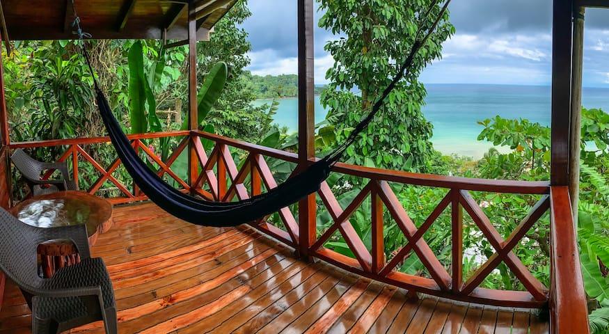 Ocean view bungalow - A/C - Agujita de Drake Cot