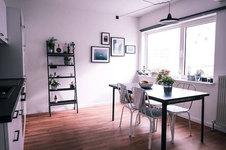 Top Floor apartment in the heart of Mitte