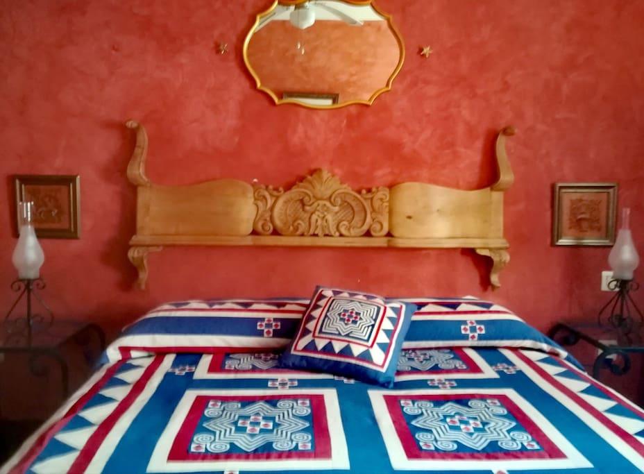 Cama matrimonio dormitorio principar