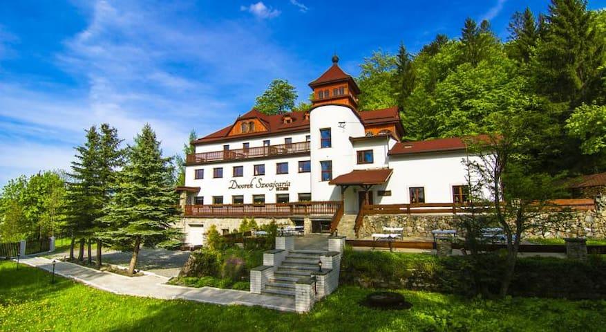 Dworek Szwajcaria - Twin Deluxe - Rajcza - อพาร์ทเมนท์