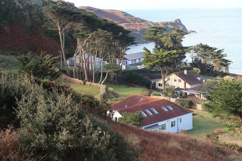 The property is situated in the La Pulente area of St Brelade's Parish