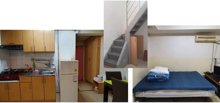 #2 cozy loft near Yonsei (my own bed kitchen bath)