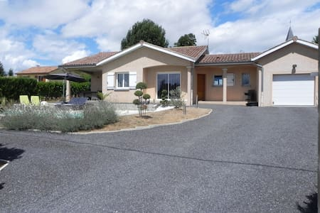 Villa avec piscine chauffée - La Salle - Casa