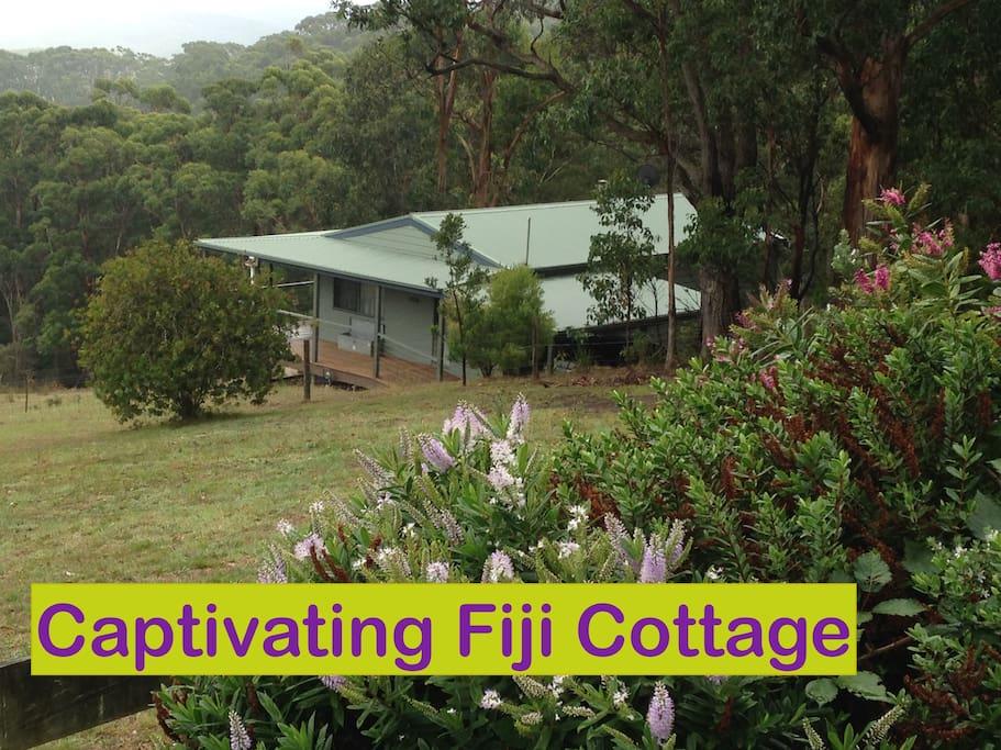 Beautiful Fiji Cottage- incredible views!