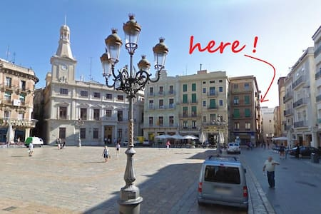 2 bed appt on the main square, Reus - 雷烏斯(Reus) - 公寓