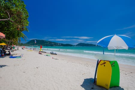 A superior twin, great location (y) - Patong - Appartement