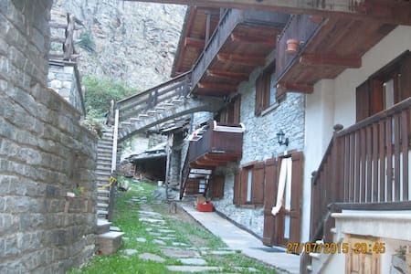 """casa in montagna  """"Mono René"""" - loc. Bois de Clin"""