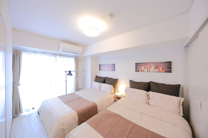 S53) ☆Middle of Namba!! Up to 10 people!!! - Naniwa-ku, Ōsaka-shi - Apartment