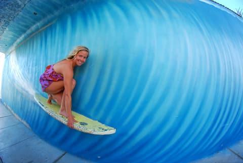 Los Faroles: Appartement & Chambres, Surf & Kitesurf