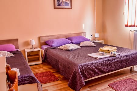 Comfy Triple room near Plitvice Lakes - Slunj - Hus