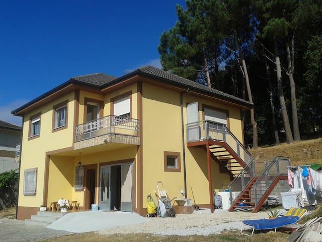 Habitación doble con amplio baño - Portomarín - Huis