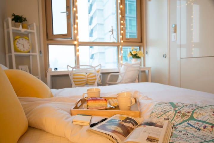 [New]Hongdae(4min), Han River View, Gangnam(15min) - Yeongdeungpo-gu - Appartement