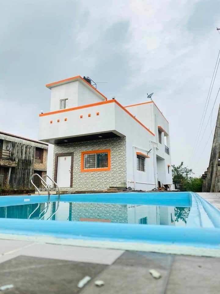 Aditi 3bhk villa with private swimming pool