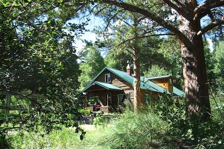 Cascading Creek Log Cabin - Stuga