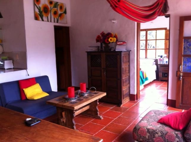 Hermosa casa campestre. Beautiful country house. - Villa de leyva - Hus