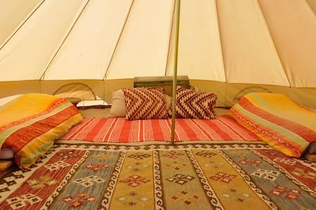 Luxe Saharatenten in Slowakije - Stredné Plachtince - 帳篷