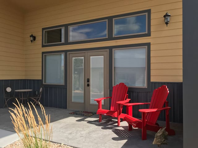 Relax on the Front Porch Adirondack Chairs