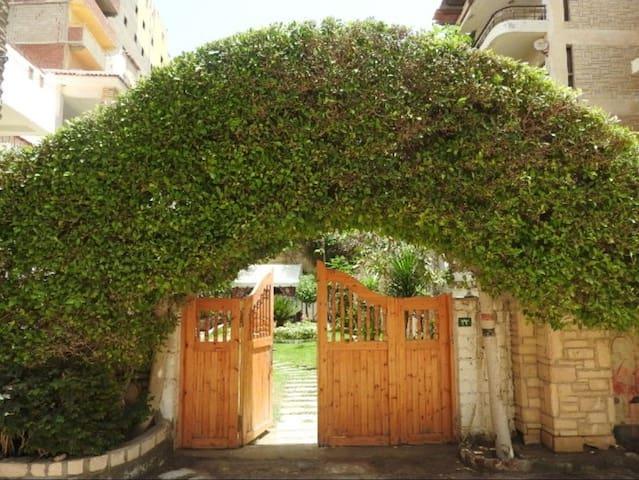 The Main entrance of the Villa.