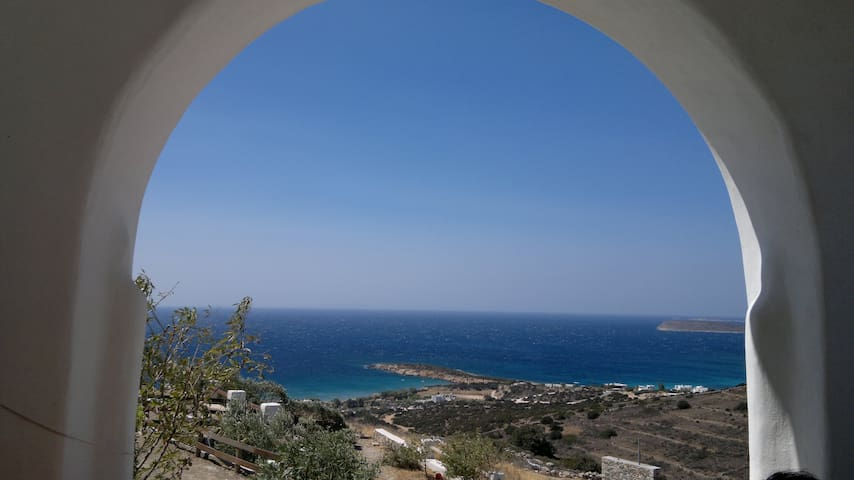 TARA Villa in Paros island Greece 10% off in July - Agkairia / Aliki, Paros island - Dům