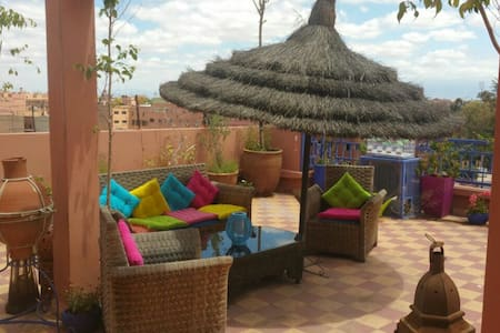 Rouge Gueliz 3 terraces, no doorman - Marrakech - Huoneisto