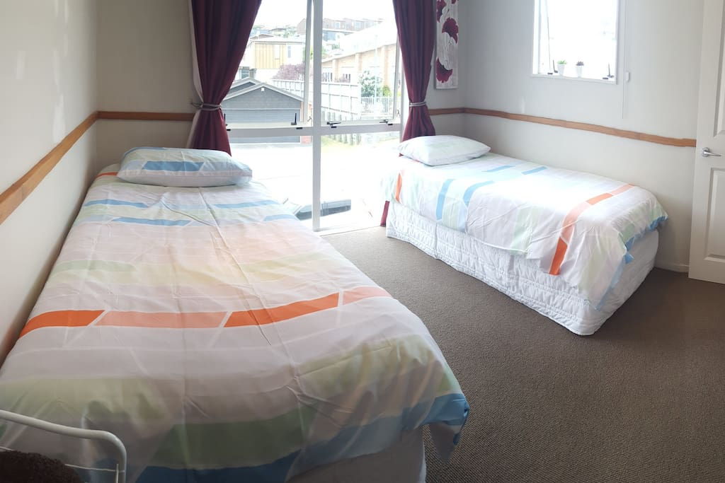 Your room(different bed sheets)