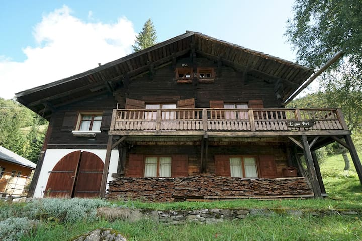 Eau Vive   Traditional individual Chalet   Mountain View